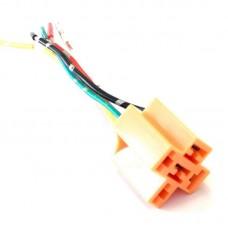 Разъем на реле 5 PIN пластик (медь)