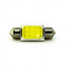 12V АС (C5W) 12LED COB 36mm 190Lm БЕЛЫЙ