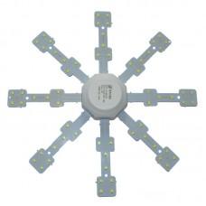 Светильник светодиодный сборной 24вт тепл 220V 6000K