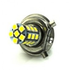24V H4 27SMD 5050 белый 60/280Lm