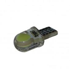 12V T10 (W5W) COB мини силикон 35Lm БЕЛЫЙ