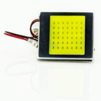 10-30V Плата COB 42LED (T10,T4w,AC) 35х40мм белый 320Lm
