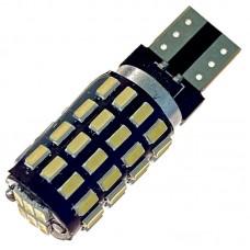 12V T10 (W5W) 54SMD драйвер обманка 640Lm БЕЛЫЙ