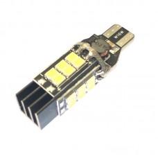 12V T15 (W16W) 24SMD 2835  1000 Lm Белый