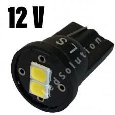 """12V T10 (W5W) 2SMD 2835 180лм """"LS"""" БЕЛЫЙ"""