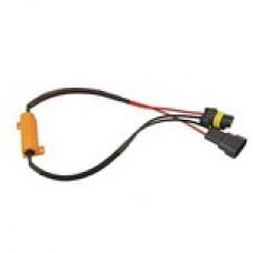 LED ОБМАНКА 9006 (HB4) 50W 6Om  Комплект (2 шт)