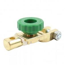 Клемма АКБ с выключателем массы (минусовая) цинк до 50 мм